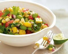 Corn, Mango, and Edamame Salad | Extravagonzo Gourmet Foods