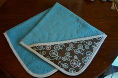 mamemimo: tutorial toalla de bebe con capucha