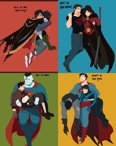 Pretty sure the friendship between Kara and Barbara would be the opposite. Superman X Batman, Superman Family, Robin Comics, Marvel Dc Comics, Tim Drake, Teen Titans Fanart, Bat Boys, Superhero Memes, Univers Dc