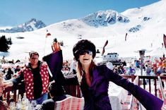 Which sort of skier are you? Find out how and where to spot every different kind of skier on your next ski holiday Ski Holidays, Photo Location, London Travel, Tower Bridge, Vacation Destinations, Skiing, Cool Photos, The Incredibles, Fashion Shoot