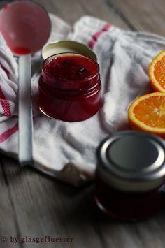 Blutorangen Cranberry Marmelade by Glasgeflüster 3 klein