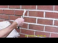 brick pointing matching 50 year old motor Mortar Repair, Brick Laying, Brick And Mortar, 50 Years Old, Grouting, Laundry Rooms, Pointers, Concrete, Youtube