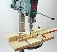 31-md-00056 - Drill Press Table Woodworking Plan - Woodworkersworkshop® Online…