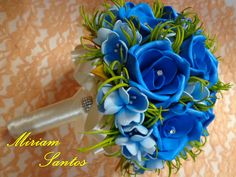 Buquê de Flores de Eva sem Frisador
