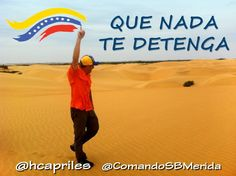 #Venezuela #QueNadaTeDetenga  COMPÁRTELO
