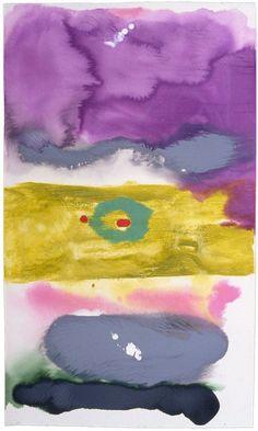 topcat77: Helen Frankenthaler Untitled, 1996 ... | Everything flows - panta rhei