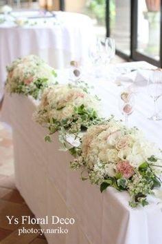 結婚式・披露宴のテーブル装花(白) - NAVER まとめ