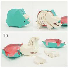 New Toys Box Design Behance Ideas Toys For Girls, Kids Toys, Do It Yourself Inspiration, Toy R, 3d Prints, Vinyl Toys, Designer Toys, Wood Toys, Toy Boxes