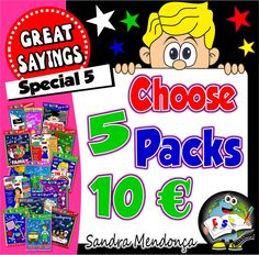 Special 5 - 5 Packs of your choice for only 10€