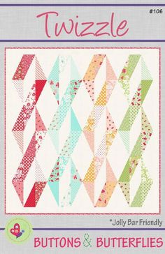 Looking for your next project? You're going to love Twizzle by designer ButtonsButterfl.