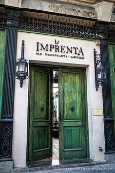La Imprenta Restaurant- Havana, Cuba