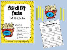 First Grade Fever!: math centers