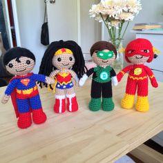 Superman Amigurumi Crochet Doll Pattern by 53Stitches on Etsy