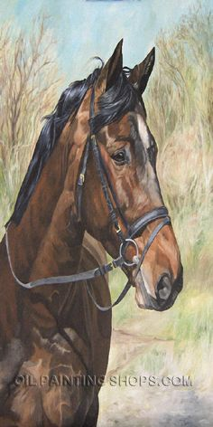 """Wall Art Decorating Ideas Canvas Painting For Sale Animal Oil Paintings Horses, Size: 24"""" x 48"""", $152. Url: http://www.oilpaintingshops.com/wall-art-decorating-ideas-canvas-painting-for-sale-animal-oil-paintings-horses-3084.html"""
