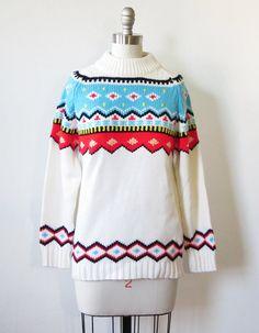 Scandi sweater