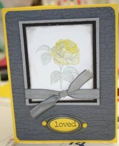 CC151: Making yo yo yellow look GOOD! by mimi_19kickbox - Cards and Paper Crafts at Splitcoaststampers