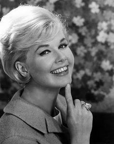 Doris Day, this is her look when she had her own tv show.  Usually played the ingenue role in musical comedies.