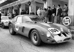 Juan Manuel Bordeu / Giorgio Scarlatti, #108 Ferrari 250 GTO (Scuderia Centro Sud), Targa Florio 1963 (6th)