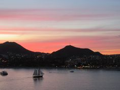 Cabo San Lucas at sunset <3