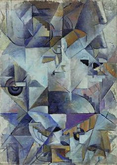 Oil on canvas. The Riklis Collection of McCrory Corporation. Painting and Sculpture Kazimir Malevich, Picasso And Braque, Art Archive, Moma, Art Boards, Oil On Canvas, Art Photography, Sculpture, Tablewares