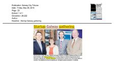 Galway: Galway City Tribune- Galway launches Startup Galway Gathering Product Launch, Thing 1, Author, How To Plan, City, Writers, Cities