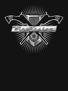 Supernatural t-shirt Sam Dean Winchester 67 by VincentCarrozza