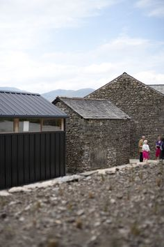 Image 6 of 17 from gallery of Lawson Park / Sutherland Hussey Architects. Courtesy of Sutherland Hussey Architects Sustainable Architecture, Amazing Architecture, Architecture Design, Building Renovation, Old Buildings, Lake District, Cladding, Minimalist Design, Restoration