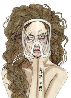 Lady GaGa by Achraf Amiri