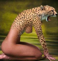 Human-cheetah wild like alpha women get it at http://www.alphamale.co