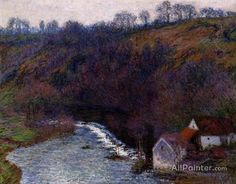 Claude Monet The Mill At Vervy oil painting reproductions for sale