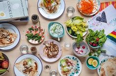 Claire Thomson's chicken wrap recipe   A taste of home   Life and style   The Guardian