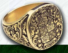 Ask the MB: Family Crest Ring