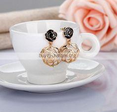 imitat chanel double c perlen diamant brosche chanel pearls diamond brosche schmuck. Black Bedroom Furniture Sets. Home Design Ideas
