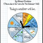 Along side their daily recoding of the days temperature in degrees, they can also mark the characteristics of that day. Classroom Calendar, Classroom Decor, School Projects, School Ideas, Teaching Resources, Teaching Ideas, Wall Boards, Kindergarten Prep, Weather Unit