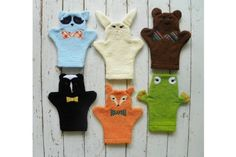 The sweetest handmade baby bath mitts for kids on Etsy!