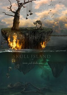 The Skull Island Photoshop Tutorial - Photoshop tutorial   PSDDude
