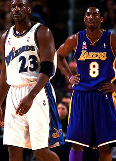 Michael Jordan & Kobe Bryant the two greatest players in the world and my favorite!