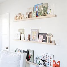 cómo hacer un perchero infantil de madera - Decoestilo12 Floating Shelves, Dress, Home Decor, How To Make, Wood, Bebe, Dresses, Decoration Home, Room Decor