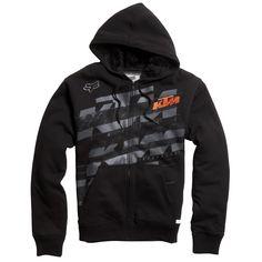 Fox Racing KTM Dividend Sasquatch Zip-Up Hoodie