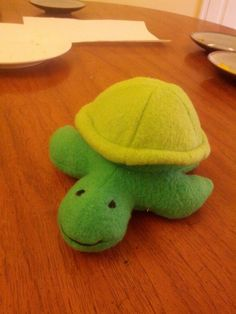 Turtle made by carrieoke using my Scooter the Turtle pattern.