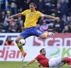 Zlatan Ibrahimovic, Sweden (2012)