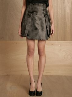 This skirt is made with 100% carbon fiber. WHAT.
