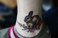 """bunny tattoos   Bunny"""" – Black Rabbit Tattoo Studio   Running Scared"""