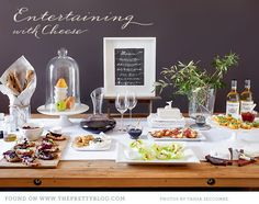 Entertaining with Cheese | We love | The Pretty Blog