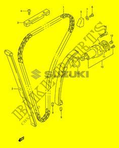 48 Best SUZUKI GS 500 K2 MICROFICHE images in 2016 | Suzuki