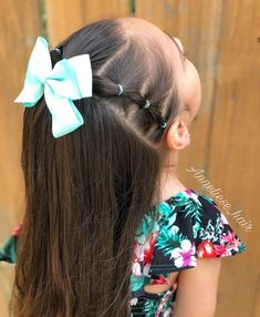 Easy Little Girl Hairstyles, Girls Hairdos, Lil Girl Hairstyles, Princess Hairstyles, Easy Hairstyles, Hair Due, Hair Looks, Hair Beauty, Hair Styles