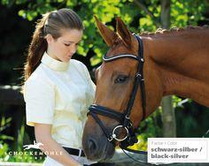 Gorgeous Schockemohle bridle, just perfect for Zoomy.