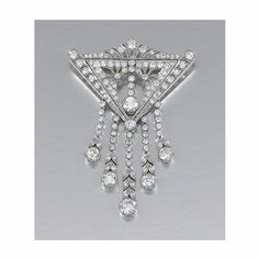 DIAMOND BROOCH, CIRCA 1910 - Sotheby's