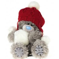 Me to You - Christmas Tatty Teddy in Red Hat with Pompoms