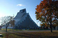 Bibliothèque Nationale de Lettonie.